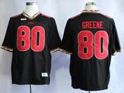 Mens Ncaa Nfl Florida State Seminoles #80 Greene Black (fsu) Jersey Gz
