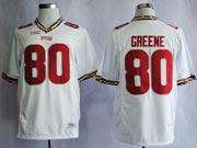 Mens Ncaa Nfl Florida State Seminoles #80 Greene White (fsu) Jersey Gz