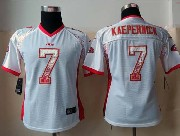 women  nfl San Francisco 49ers #7 Colin Kaepernick drift fashion white elite jersey