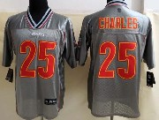 Mens Nfl Kansas City Chiefs #25 Charles Gray Vapor (2013 New) Elite Jersey