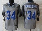Mens Nfl Indianapolis Colts #34 Richardson Gray Vapor (2013 New) Elite Jersey