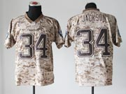 Mens Nfl Oakland Raiders #34 Bo Jackson Camo Us Mccuu Jersey