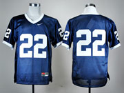 Mens Ncaa Nfl Penn State Nittany Lions #22 Blue Elite Jersey Gz