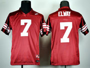 Youth Ncaa Nfl Standford Cardinals #7 Elway Red Jersey Gz