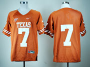 Mens Ncaa Nfl Texas Longhorns #7 Gilbert Orange Jersey Gz
