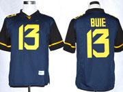 Mens Ncaa Nfl Virginia Mountaineers #13 Bule Blue Limited Jersey Gz