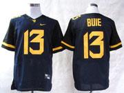 Mens Ncaa Nfl Virginia Mountaineers #13 Bule Blue Elite Jersey Gz