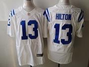 Mens Nfl Indianapolis Colts #13 Hilton White Elite Jersey