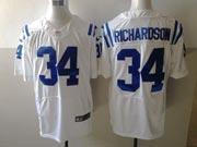 Mens Nfl Indianapolis Colts #34 Richardson White Elite Jersey