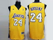 Mens Nba Los Angeles Lakers #24 Bryant Gold Revolution 30 Jersey (p)