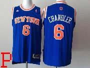 Mens Nba New York Knicks #6 Chandler Blue Revolution 30 Jersey (p)