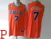 mens nba New York Knicks #7 Carmelo Anthony orange revolution 30 jersey (p)