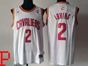 Mens Nba Cleveland Cavaliers #2 Irving White Revolution 30 Jersey (p)