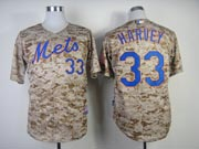 Mens Mlb New York Mets #33 Harvey Camo (cool Base) Jersey