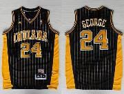 Mens Nba Indiana Pacers #24 George Dark Blue Swingman Soul Jersey