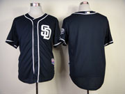 Mens mlb san diego padres (blank) blue (sd) Jersey