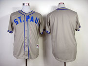 Mens Mlb Minnesota Twins (blank) Gray (2014new) Jersey