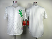 Mens mlb chicago white sox (blank) white (green number) Jersey