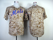 Mens mlb new york mets (blank) camouflage painting Jersey