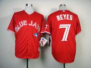 Mens mlb toronto blue jays #7 reyes red Jersey