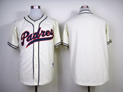 Mens mlb san diego padres (blank) milky white Jersey