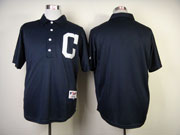 Mens Mlb Cleveland Indians (blank) Blue 1902 Turn Back The Clock Jersey