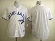 Mens mlb toronto blue jays (blank) white 2012 new style Jersey