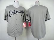 Mens Mlb Chicago White Sox #(blank) Gray Jersey
