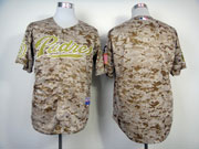 Mens mlb san diego padres (blank) camouflage Jersey
