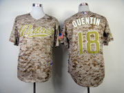 Mens mlb san diego padres #18 quentin camouflage Jersey