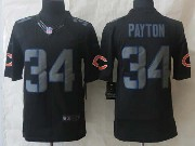 mens nfl Chicago Bears #34 Walter Payton back new impact limited jersey