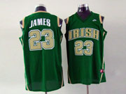 Mens Nba Cleveland Cavaliers #23 Lebron James Green Jersey