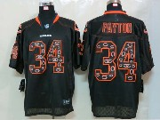 mens nfl Chicago Bears #34 Walter Payton black (2014 new light out) elite jersey