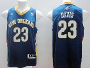 Mens Nba New Orleans Hornets #23 Davis Blue Jersey