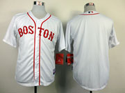 Mens Mlb Boston Red Sox Blank White (2014 New) Jersey