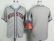 Mens Mlb Houston Astros (blank) Gray (2014 New) Jersey