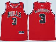 Mens Nba Chicago Bulls #3 Mcdermott (bulls) Red Revolution 30 Jersey (p)
