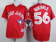 Mens mlb toronto blue jays #56 buehrle red Jersey