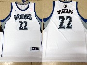 Mens Nba Minnesota Timberwolves #22 Wiggins White Revolution 30 Jersey (p)