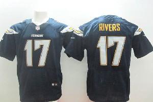 Mens Nfl San Diego Chargers #17 Rivers (2014 New Fl) Dark Blue Elite Jersey