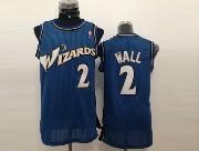 Mens Nba Washington Wizards #2 John Wall Dark Blue Jersey (m)