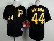 Mens mlb pittsburgh pirates #44 watson black Jersey