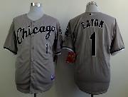 Mens Mlb Chicago White Sox #1 Eaton Gray Jersey
