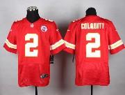 Mens Nfl Kansas City Chiefs #2 Colquitt Red Elite Jersey