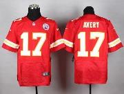 Mens Nfl Kansas City Chiefs #17 Avery Red Elite Jersey