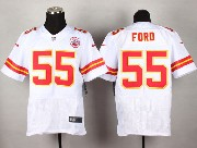Mens Nfl Kansas City Chiefs #55 Ford White Elite Jersey