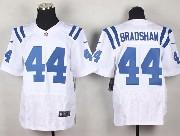 Mens Nfl Indianapolis Colts #44 Bradshaw White Elite Jersey