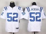 Mens Nfl Indianapolis Colts #52 Jackson White Elite Jersey