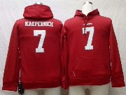 youth nfl San Francisco 49ers #7 Colin Kaepernick red hoodie jersey