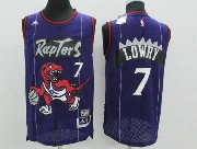 Mens Nba Toronto Raptors #7 Lowry Purple Mesh Jersey